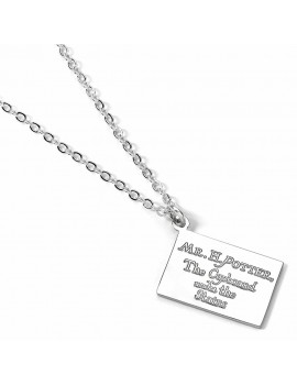 Harry Potter Pendant & Necklace Hogwarts Acceptance Letter (silver plated)