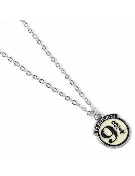 Harry Potter Pendant & Necklace Platform 9 3/4 (silver plated)