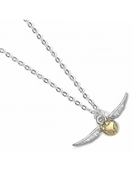 Harry Potter Pendant & Necklace The Golden Snitch (silver plated)