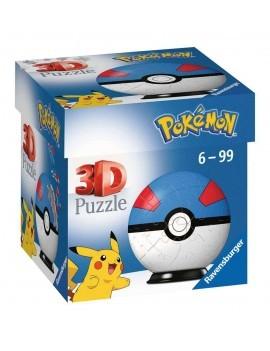Pokémon 3D Puzzle Pokéballs: Great Ball (54 pieces)