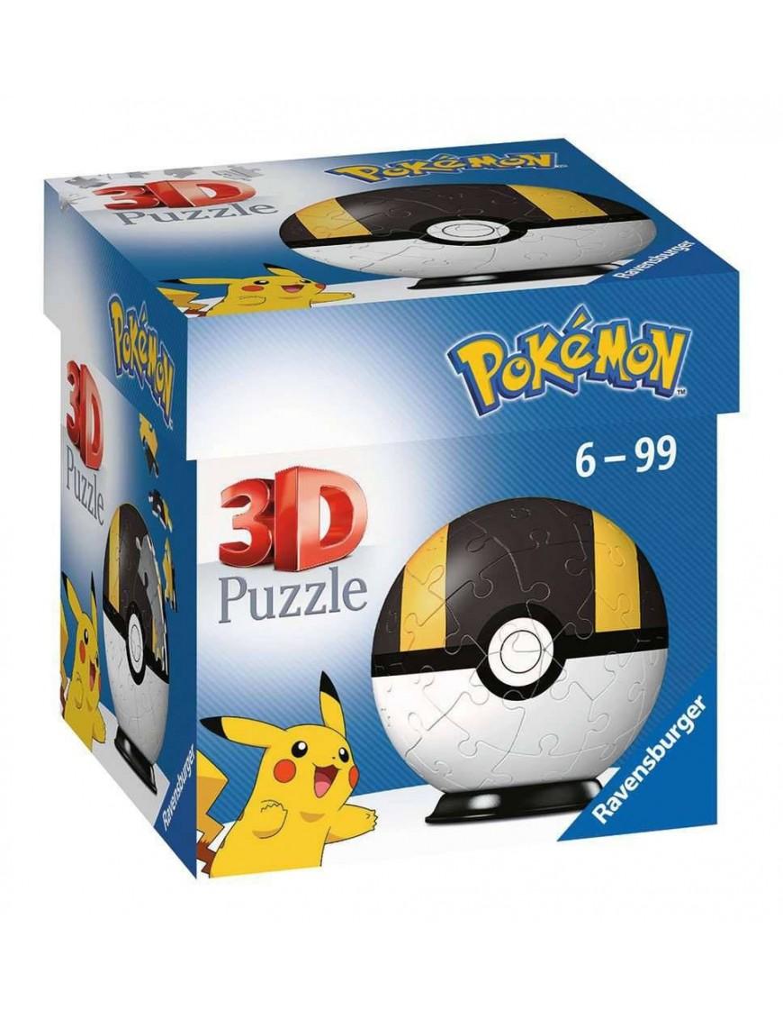 Pokémon 3D Puzzle Pokéballs: Ultra Ball (54 pieces)