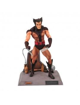 Marvel Select Action Figure Unmasked Brown Costume Wolverine 18 cm