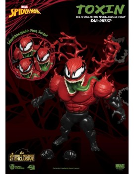 Marvel Comics Egg Attack Action Action Figure Toxin Beast Kingdom 2021 Exclusive 20 cm