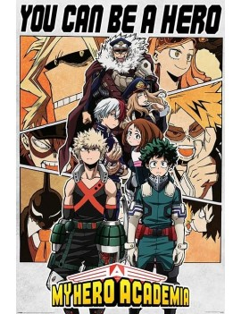 My Hero Academia Poster Pack Be a Hero 61 x 91 cm (5)
