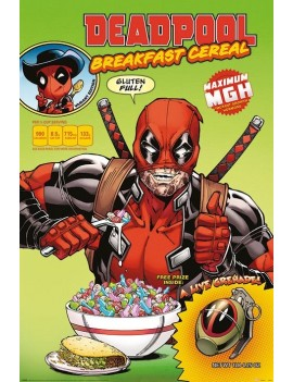Dead Pool Poster Pack Cereal 61 x 91 cm (5)