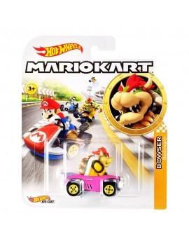 Mario Kart Hot Wheels Diecast Vehicle 1/64 Bowser (Badwagon) 8 cm