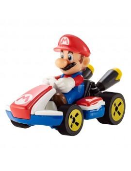 Mario Kart Hot Wheels Diecast Vehicle 1/64 Mario (Standard Kart) 8 cm
