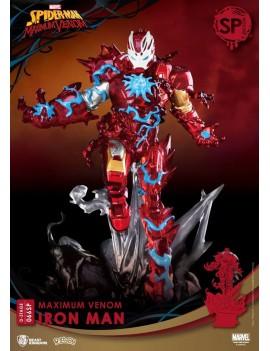 Marvel Comics D-Stage PVC Diorama Maximum Venom Iron Man Special Edition 16 cm