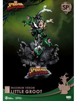 Marvel Comics D-Stage PVC Diorama Maximum Venom Little Groot Special Edition 16 cm