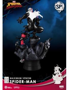 Marvel Comics D-Stage PVC Diorama Maximum Venom Spider-Man Special Edition 16 cm