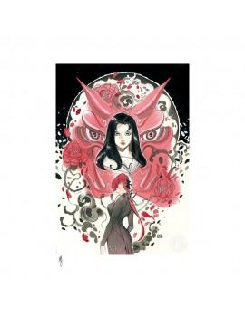 Marvel Comics Art Print Demon Days: Mariko & Black Widow 46 x 61 cm - unframed