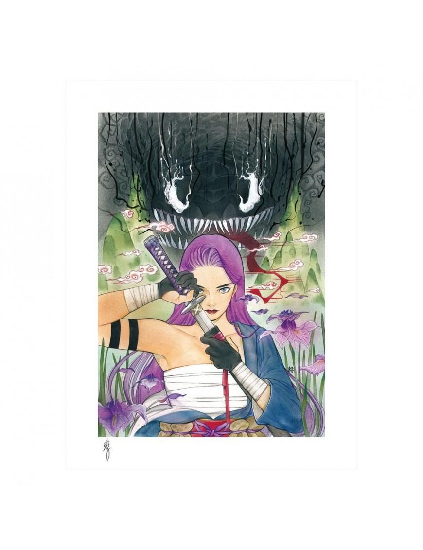 Marvel Comics Art Print Demon Days: X-Men Psylocke 46 x 61 cm - unframed