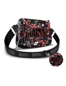 Marvel IHoney Shoulder Bag & Card Holder / Cookie Mini Purse Bloom