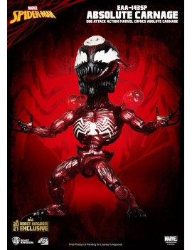 Marvel Comics Egg Attack Action Action Figure Absolute Carnage BK Exclusive 16 cm