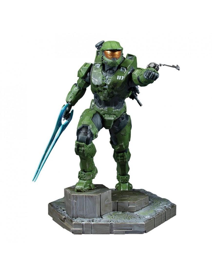 Halo Infinite PVC Statue Master Chief & Grappleshot 26 cm