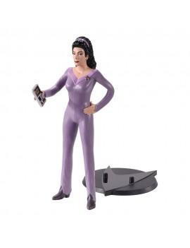 Star Trek: The Next Generation Bendyfigs Bendable Figure Counselor Troi 19 cm