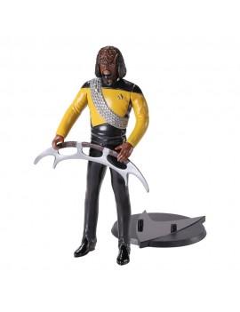 Star Trek: The Next Generation Bendyfigs Bendable Figure Lt Worf 19 cm