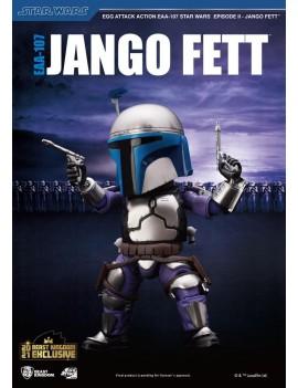 Star Wars Episode II Egg Attack Action Figure Jango Fett BK Exclusive 16 cm