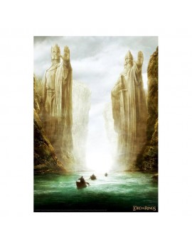 Lord of the Rings Art Print The Gates Limited Edition 42 x 30 cm
