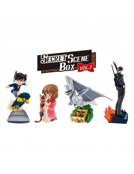 Case Closed Petitrama Series Trading Figure 8 cm Secret Scene Box Vol. 1 Assortment (4)