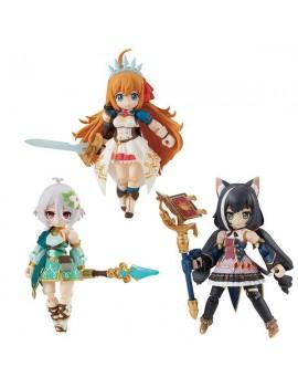 Princess Connect! Re:Dive Desktop Army Figures 8 cm Pecorine, Karyl & Kokkoro Assortment (3)