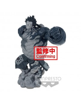 One Piece BWFC 3 Super Master Stars Piece Statue Monkey D. Luffy Gear4 The Tones 22 cm