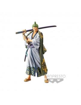 One Piece DXF Grandline Men PVC Statue Wanokuni Vol. 2 Zoro 17 cm