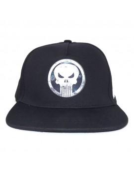 Marvel Comics Punisher Curved Bill Cap Logo