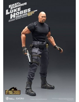 Fast & Furious Dynamic 8ction Heroes Action Figure 1/9 Luke Hobbs Limited Edition 21 cm