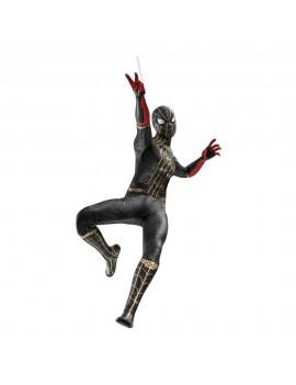 Spider-Man: No Way Home Movie Masterpiece Action Figure 1/6 Spider-Man (Black & Gold Suit) 30 cm