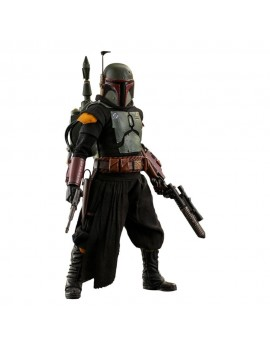 Star Wars The Mandalorian Action Figure 1/6 Boba Fett (Repaint Armor) 30 cm