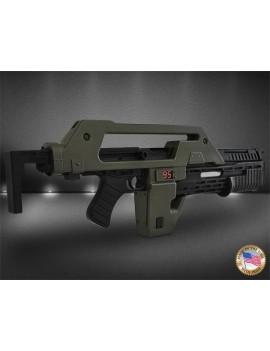 Aliens Replica 1/1 Pulse Rifle OD Green Exclusive 68 cm