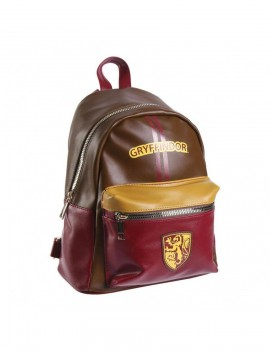 Harry Potter Faux Leather Backpack Gryffindor