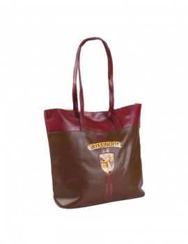 Harry Potter Faux Leather Shopping Bag Gryffindor