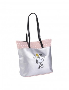 Peanuts Faux Leather Shopping Bag All Smiles