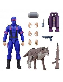 G.I. Joe Ultimates Action Figure Snake Eyes [Real American Hero] 18 cm