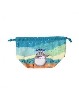My Neighbor Totoro Laundry Storage Bag Totoro under the rain 17 x 26 x 12 cm