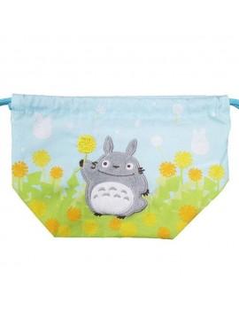 My Neighbor Totoro Laundry Storage Bag Totoro with Flowers 17 x 26 x 12 cm