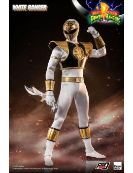 Mighty Morphin Power Rangers FigZero Action Figure 1/6 White Ranger 30 cm