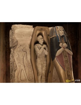 Universal Monsters Deluxe Art Scale Statue 1/10 The Mummy 25 cm