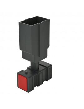 Batman The Animated Series Prop Replica 1/1 Grapnel Launcher 18 cm