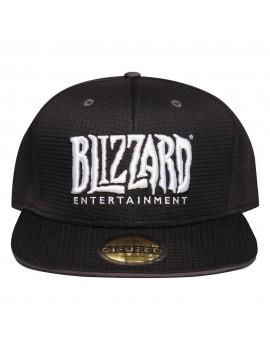 Overwatch Snapback Cap Blizzard Logo
