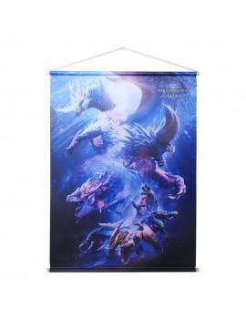 Monster Hunter World: Iceborne Wallscroll Monster Group 64 x 88 cm