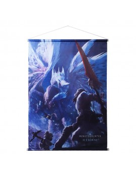 Monster Hunter World: Iceborne Wallscroll Velkhana 60 x 84 cm