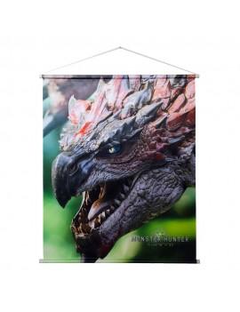 Monster Hunter: World Wallscroll Rathalos 69 x 84 cm