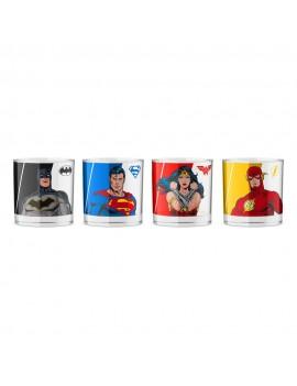 DC Comics Shotglass 4-Pack