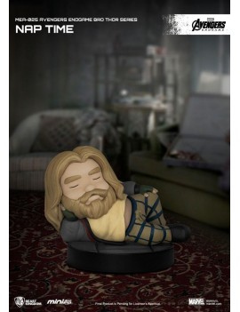 Avengers: Endgame Mini Egg Attack Figure Bro Thor Series Nap time 8 cm