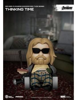 Avengers: Endgame Mini Egg Attack Figure Bro Thor Series Thinking time 8 cm