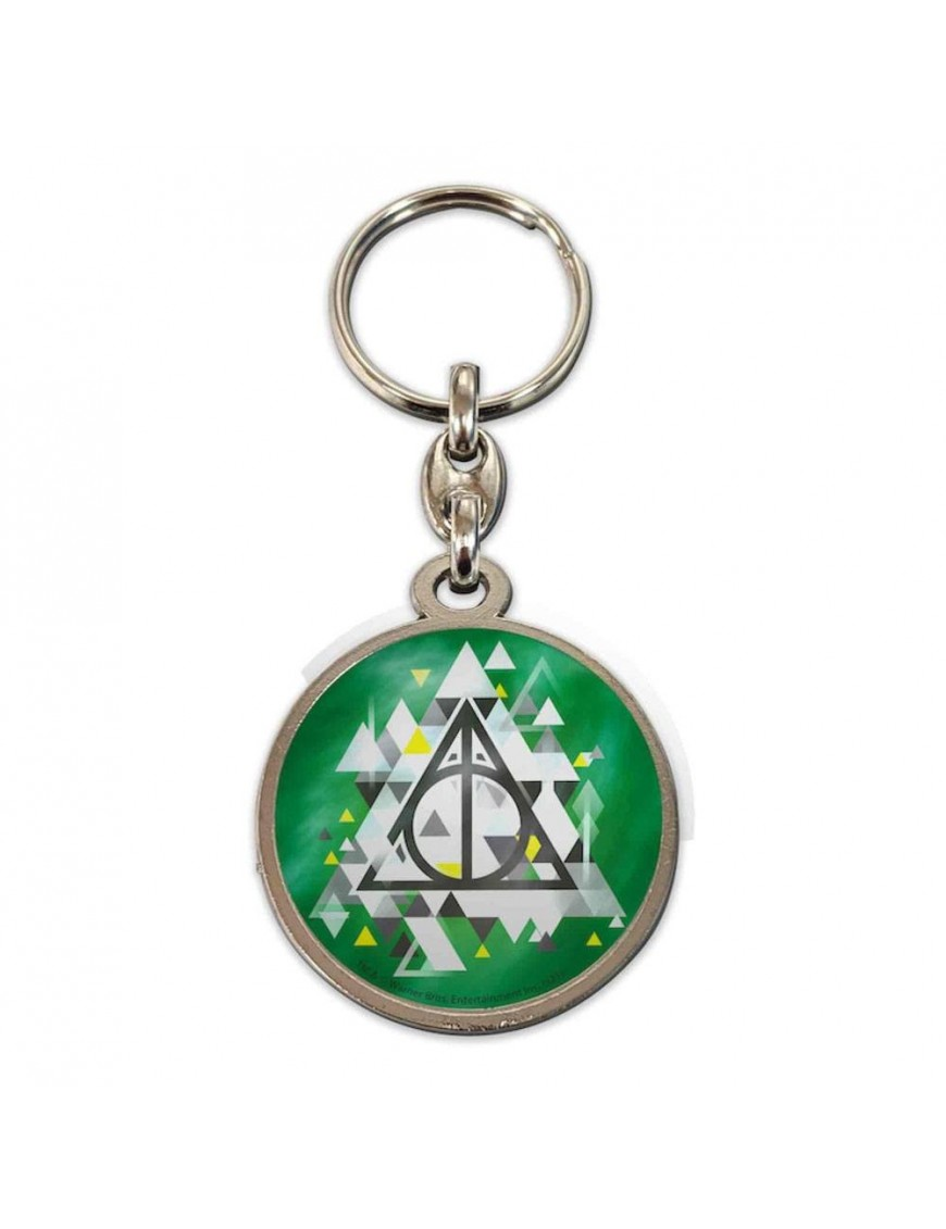 Harry Potter Metal Keychain Deathly Hallows