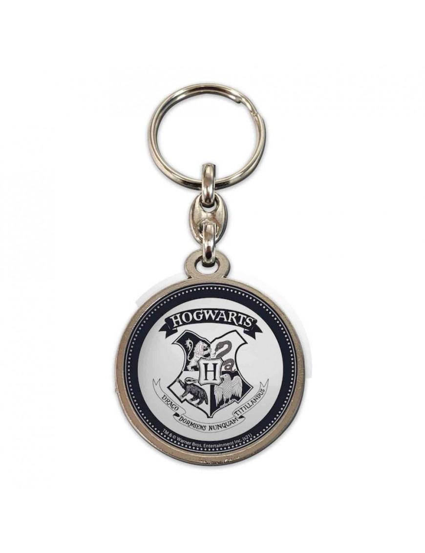 Harry Potter Metal Keychain Hogwarts Shield
